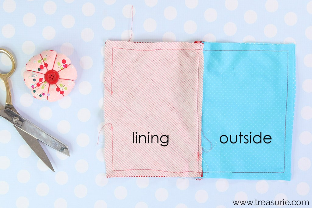 step 6: how to sew a zipper pouch