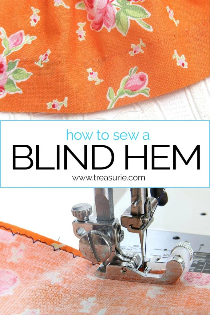 Blind Stitch, Blind Stitch Hem, How to Sew a Blind Stitch