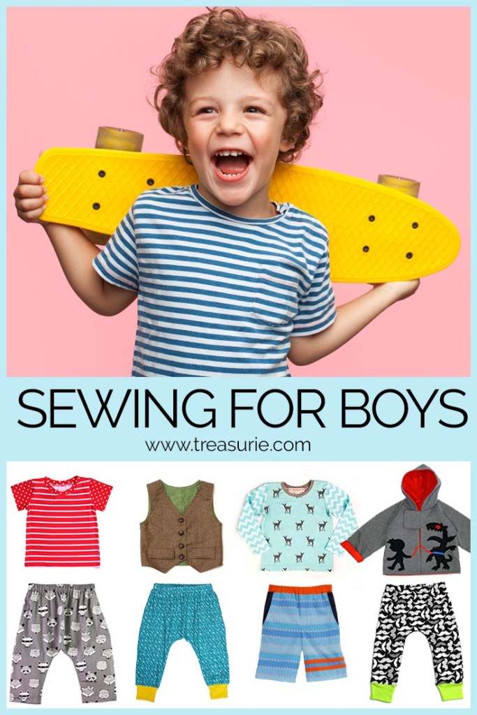 sewing for boys, boys sewing patterns