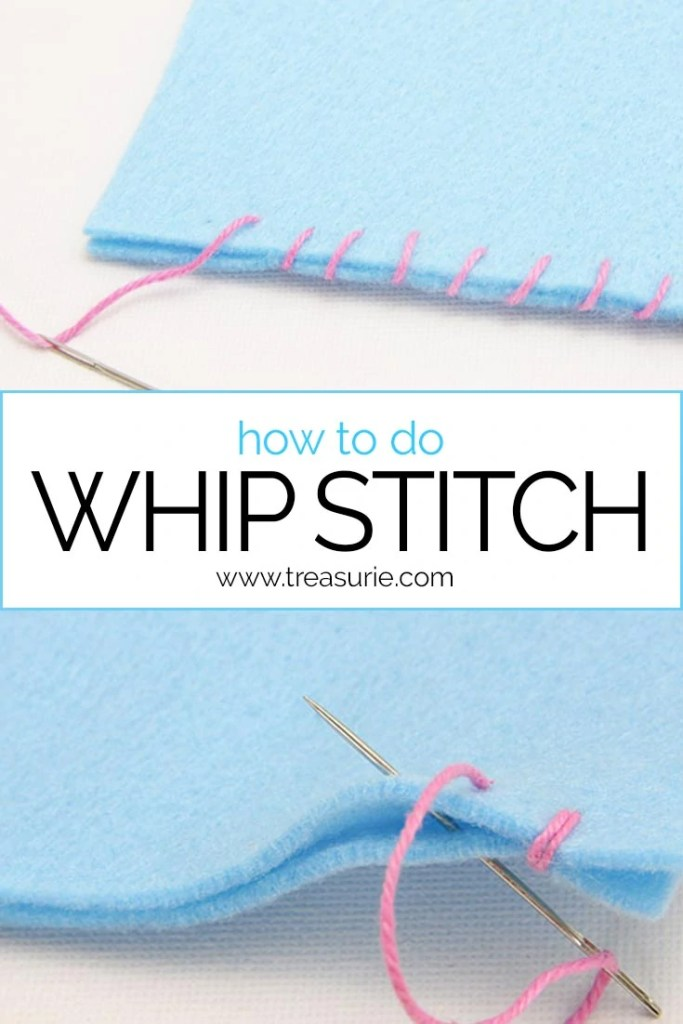 Whip stitch, how to do whip stitch