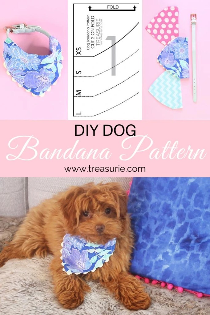 dog bandana pattern