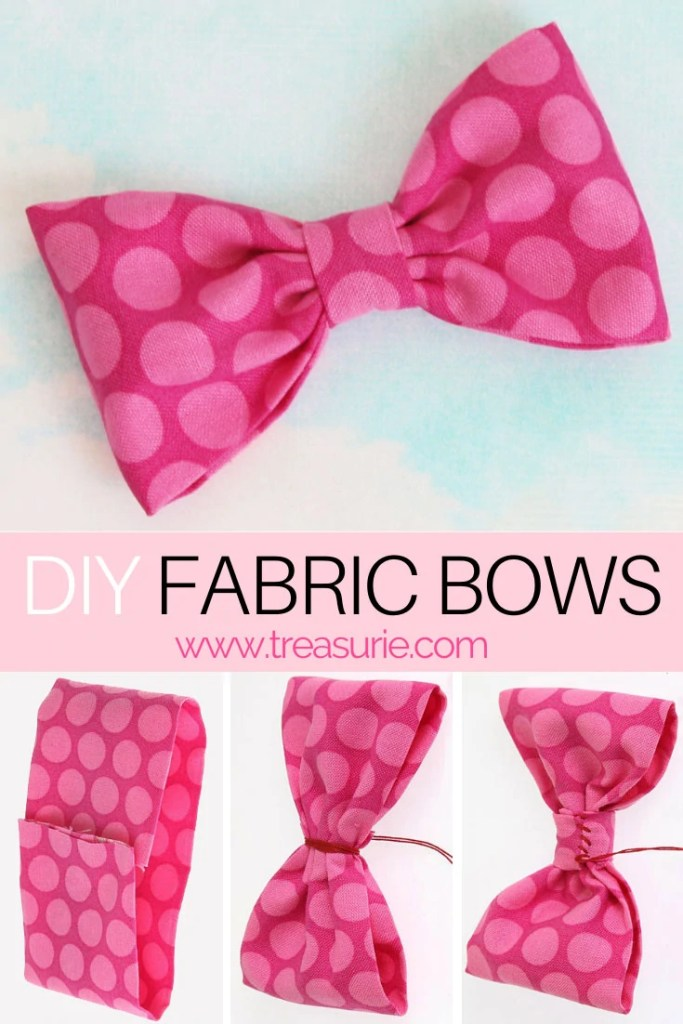 How to Make Fabric Bows | DIY Fabric Bows