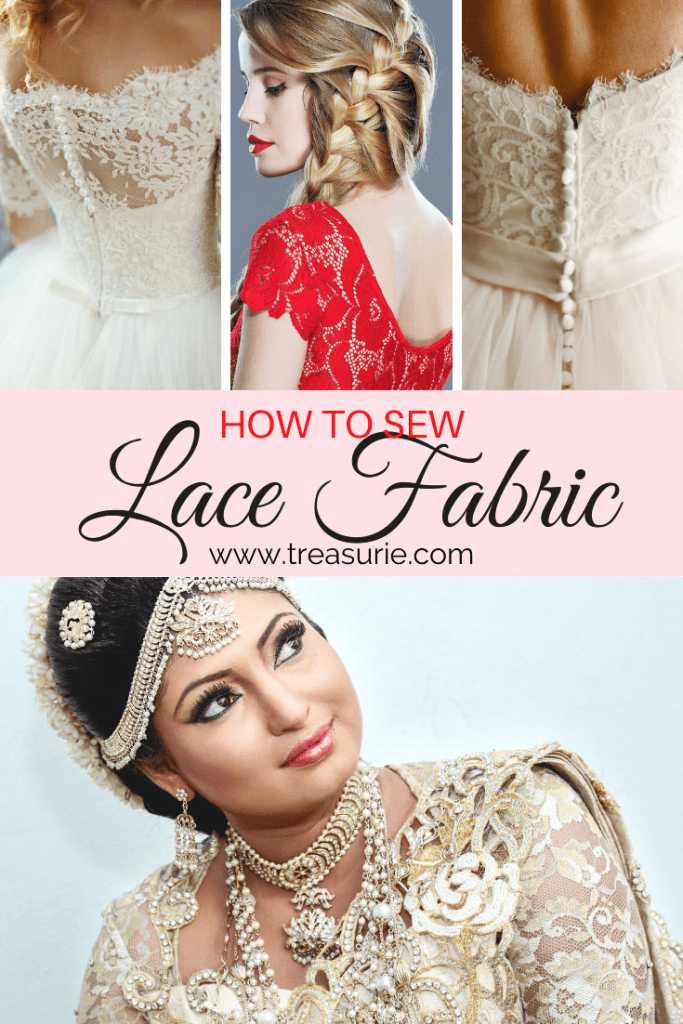 sewing lace, how to sew lace