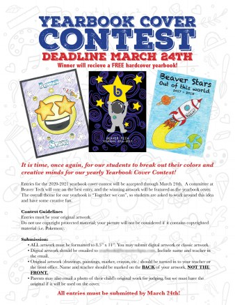 Yearbook cover contest call for submissions