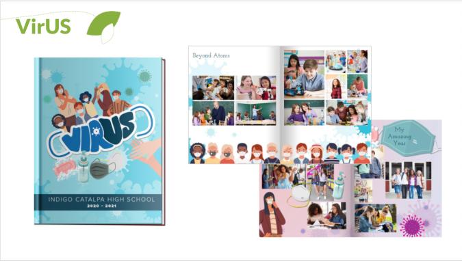 virUS yearbook theme