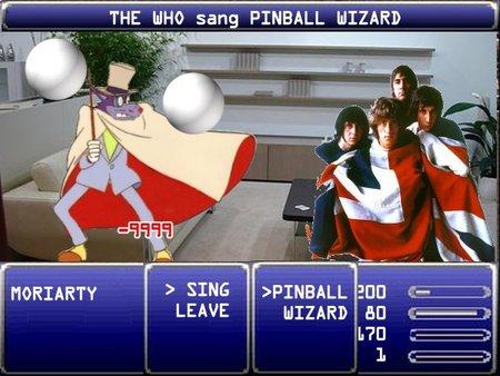 THE WHO uses PINBALL WIZARD