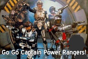 Go Go Captain Power Rangers!