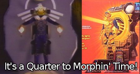 It's a Quarter to Morphin' Time!