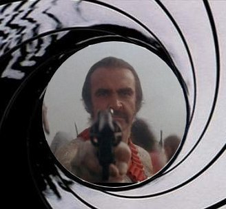 SEAN CONNERY IS GOING TO KILL YOU