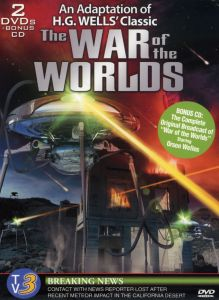 War of the Worlds: Breaking News / An Adaptation of HG Wells The War of thr Worlds DVD cover