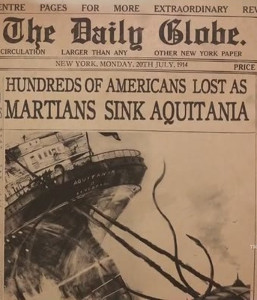 The Great Martian War: RMS Aquitania