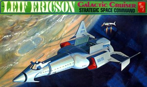 Leif Ericson Galaxy Cruiser designed by Matt Jeffries.