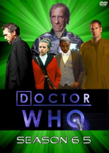 Alternative universe Doctor Who DVD set with Hugh Laurie, David Warner, Lee Thompson Young and Scarlett Johanssen