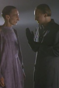 Julian Richings and Denis Forest in War of the Worlds