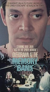 Overdrawn at the Memory Bank VHS box cover