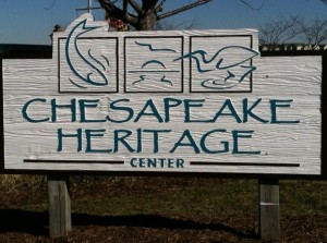 Chesapeake Heritage Center Sign