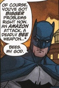Batman in Amazons Attack