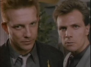 John Novak and Alex Carter in War of the Worlds