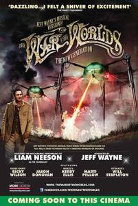 Liam Neeson in Jeff Wayne's War of the Worlds