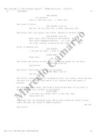 Doctor Who Script Page