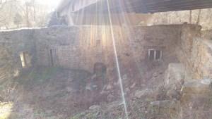 Simpsonville Mill Ruins