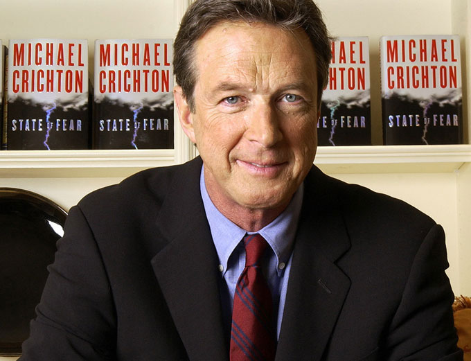 Image result for Michael crichton and family and wife