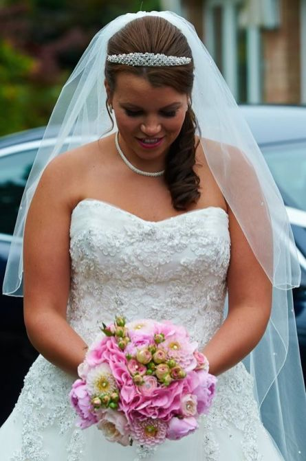 2 Bridal Bouquet Pink Wedding (1)