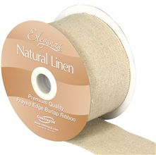 Natural-Linen-Frayed-Burlap-Linen-Ribbon-wholesale