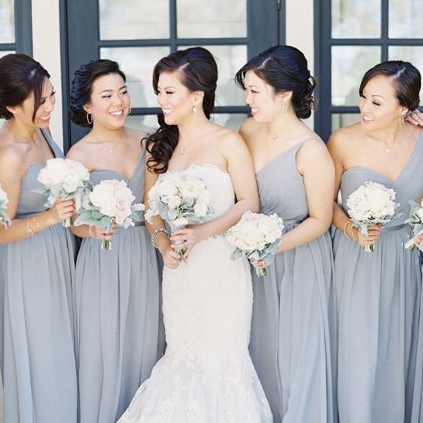 Elegant Grey Wedding