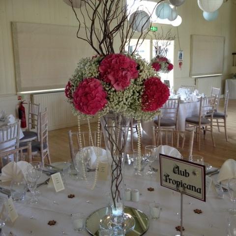 DIY: Hydrangea Wedding Centrepiece