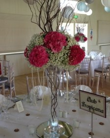 Pink Table Centrepiece - How to Guide