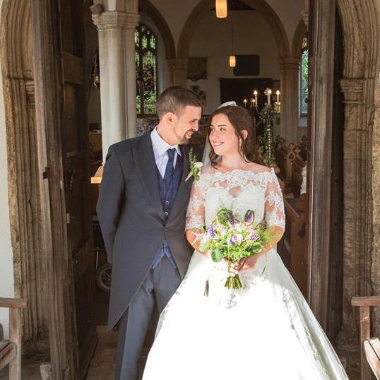 Sophie + Shaun Wedding Flowers - Triangle Nursery Ltd