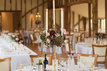 Tall Table Centrepieces - Wedding Inspiration