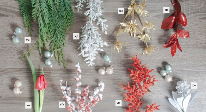 Christmas Fresh Flowers - Triangle Nursery Ltd