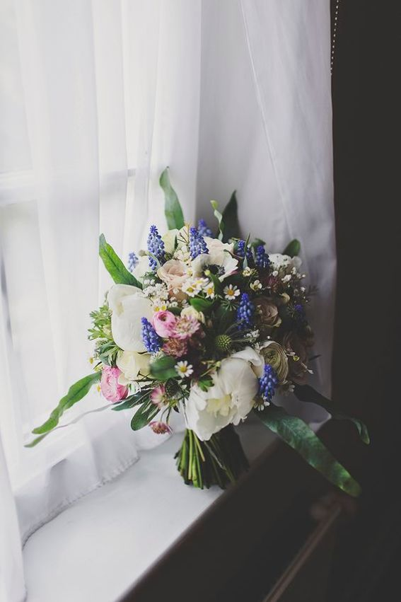 WWW - Hyacinths Wedding Bouquet