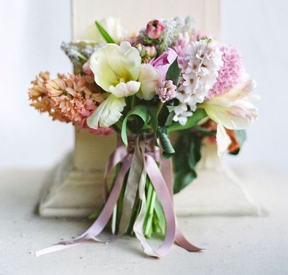 Wedding Spring Hyacinths Biuquet