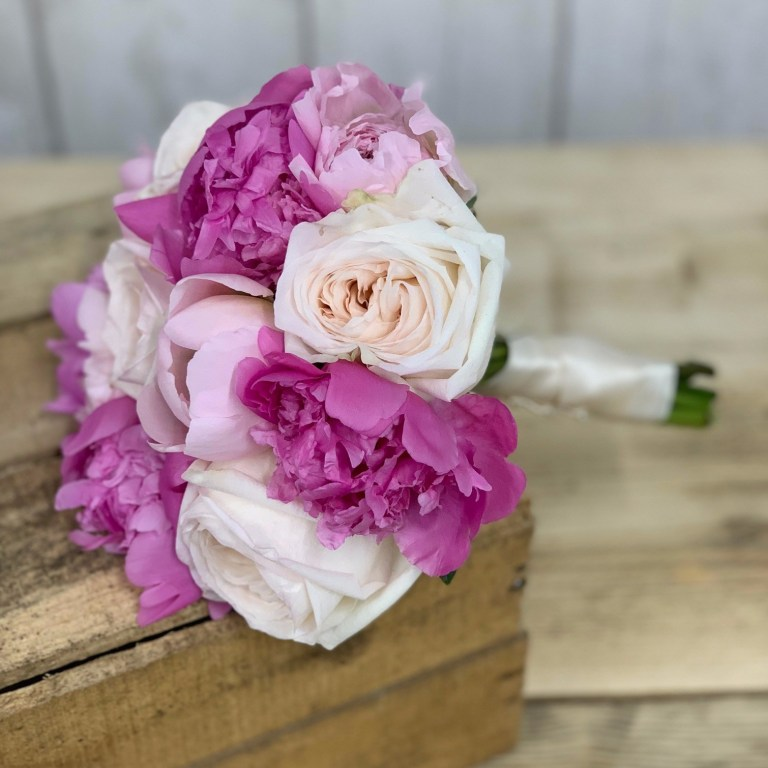 DIY Pretty in Pink Bouquet
