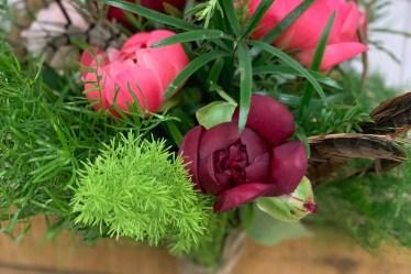 Learn How to Make a Boho wedding bouquet with Triangle Nursery