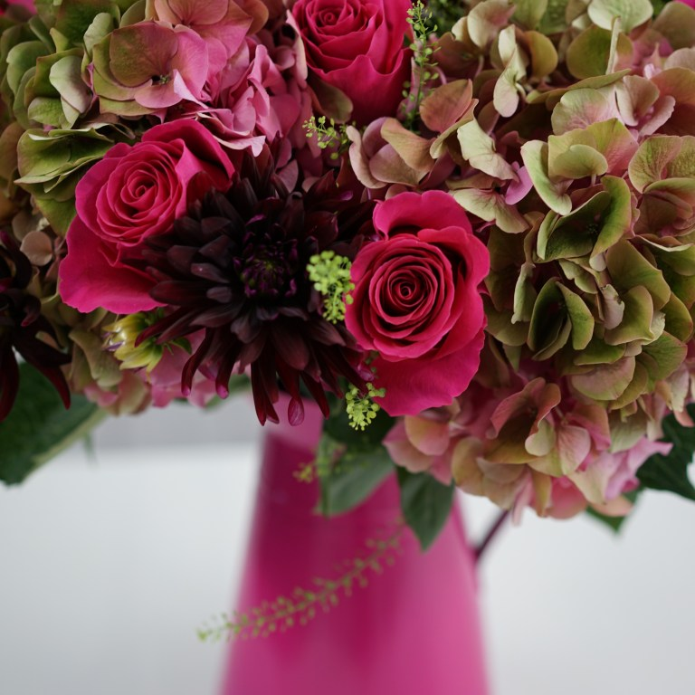 DIY Pink Gift Bouquet