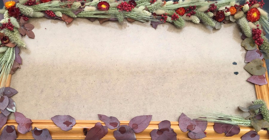 How to Guide and Tutorials with Dried Flowers - Triangle Nursery Ltd