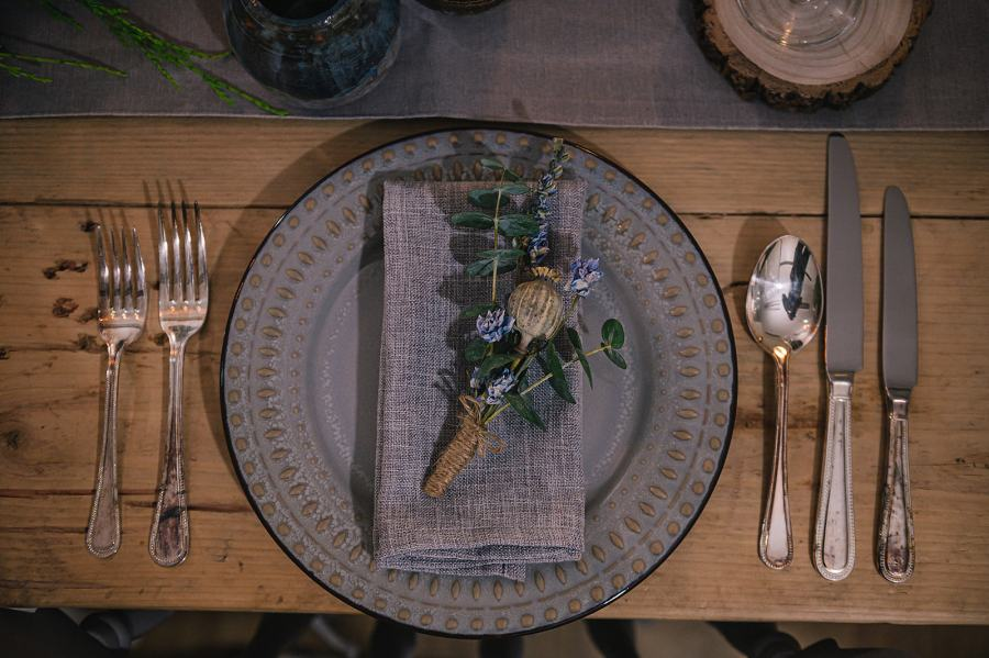Ideas for Christmas Table Place Settings