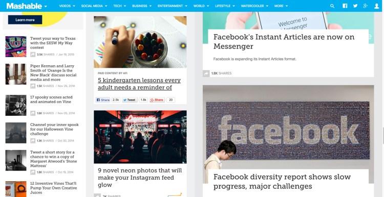 Mashable Social Media