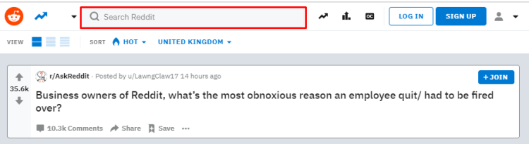 Reddit Search Subreddits - - Content Curation