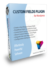 WordPress Custom Fields Plugin