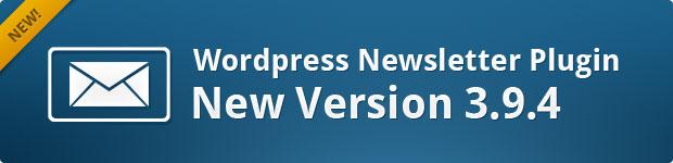 WordPress Newsletter Plugin v3.9.4