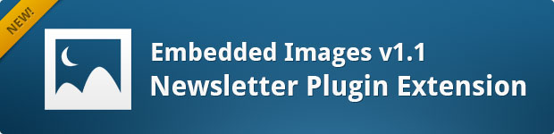 Newsletters: Embedded Images v1.1 Banner