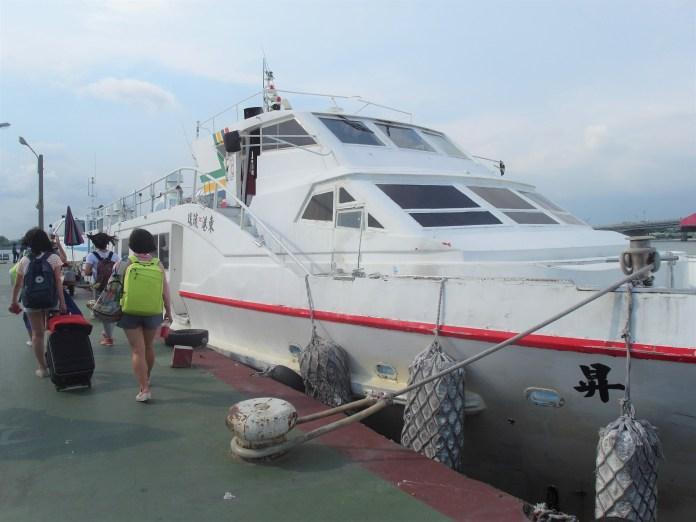 東港小琉球往返船