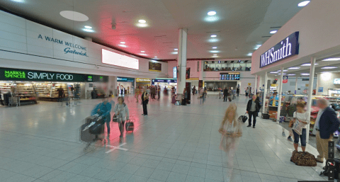 Gatwick Airport Google Indoor