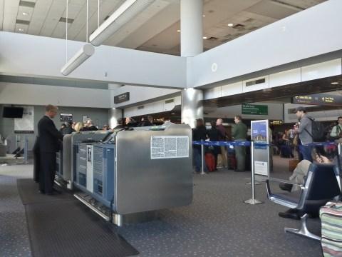 Boarding Area B32 - Denver International Airport