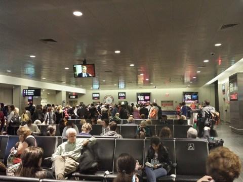 Boston Logan Terminal E Gate E8A (BOS to FRA)